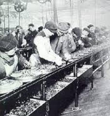 First Assembly line