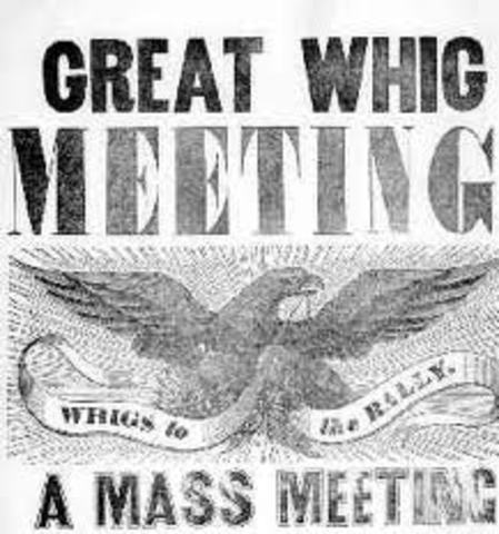 Whig Party formed