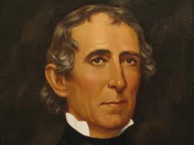 The One-Month Term in Office Cont'd: John Tyler