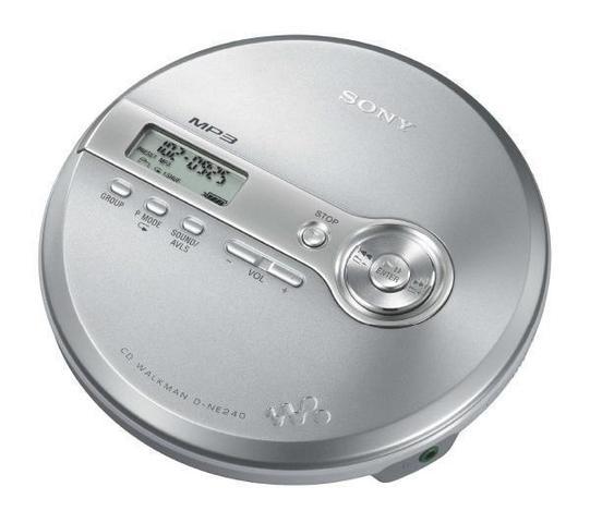 Le baladeur CD ou discman