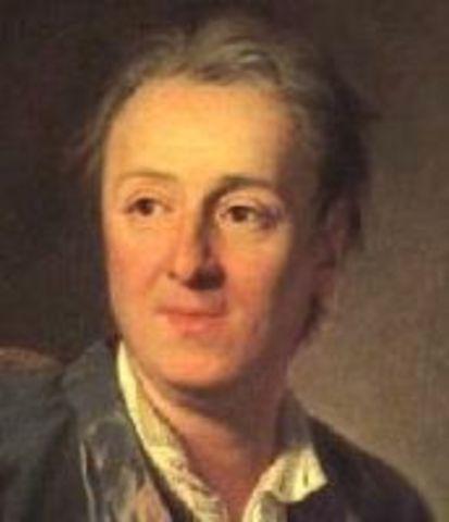 Diderot commence à travailler pour l'Histoire des deux Indes de Raynal.