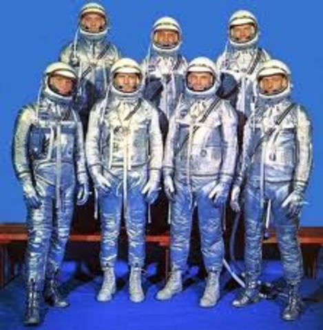 U.S Pilots Chosen for Mercury Missions