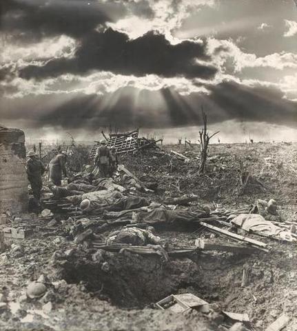 First battle of Passchendaele