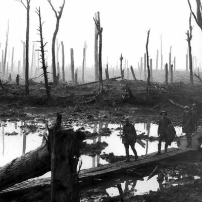 The battle of Passchendaele timeline