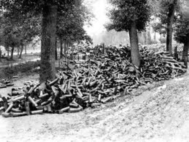 The Battle of Somme 1 July – 18 November 1916