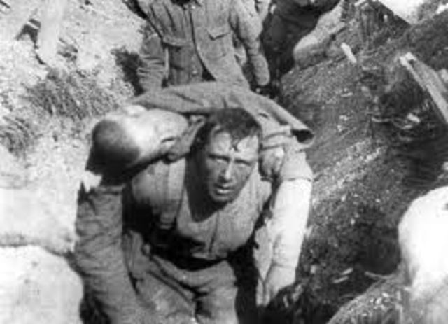 the battle of somme ends.