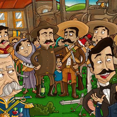 Linea del tiempo de la revolución Mexicana (1910-1940) timeline
