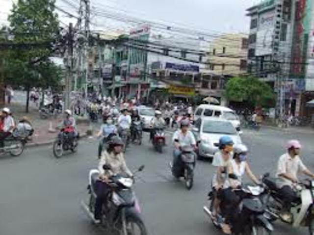 Fleeing Vietnam