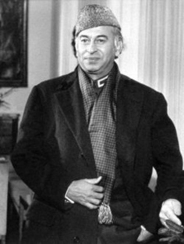 Z.A Bhutto hanged