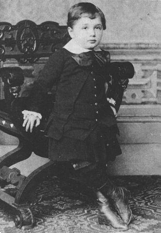 Albert was born.