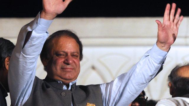 Nawaz Sharif becomes PM