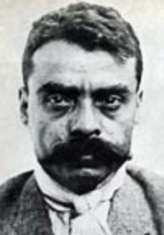 Zapata modifica el plan de Ayala desconociendo a Huerta