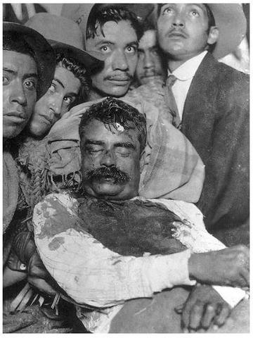 Es acribillado Emiliano Zapata por Jesús Guajardo