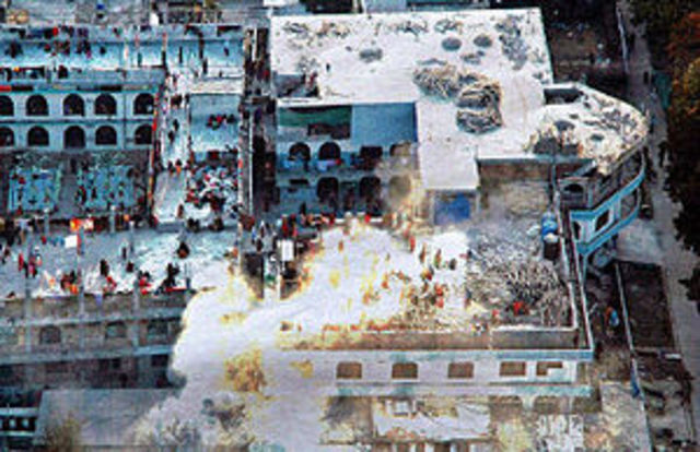 The Laal Masjid tragedy begins resulting in bombings and militatnt attacks.