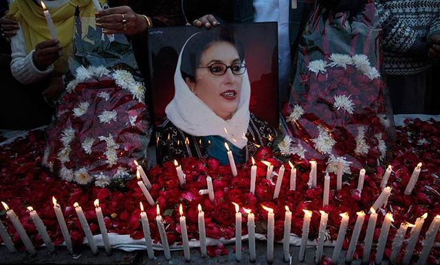 Benazir is killed in a gun and bomb attack after a rally in Rawalpindi.
