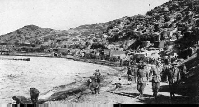 Beggining of Gallipoli Campain