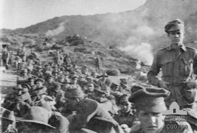 5:30 The ANZACs begin to reorganise