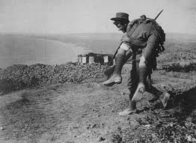 6:00 ANZACs at the sphinx are wounded and killed