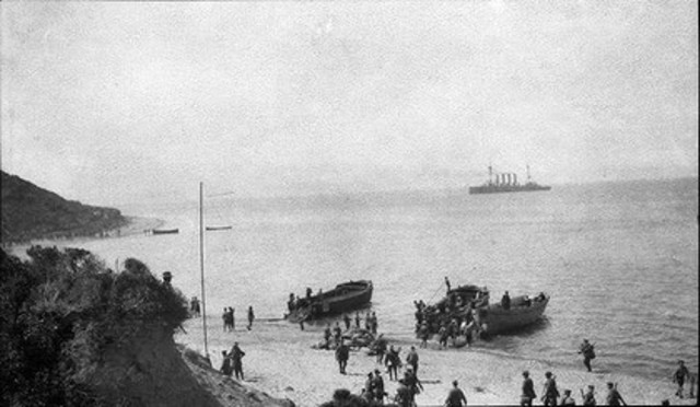 7:20 ANZAC commanding officers finally arrive