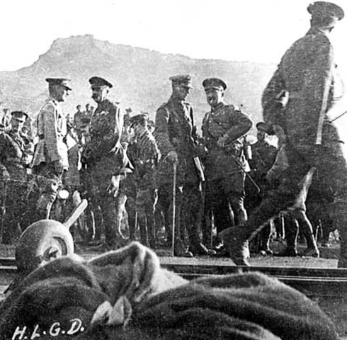 9:00 Main force begin to arrive at the 2nd ridge