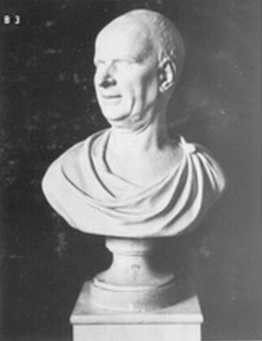 Réalisation du buste de Raynal par Jean-Pierre Tassaert