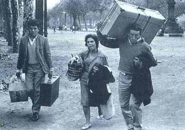 Primera gran oleada de emigrantes españoles