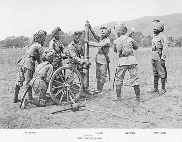 14:25 Forced Indian mountain battery withdraw