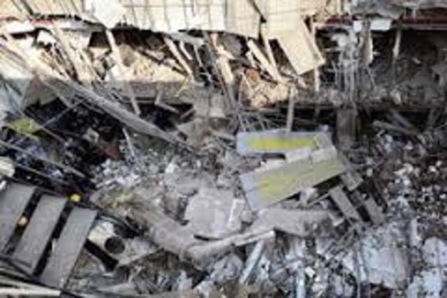 Building colapsed