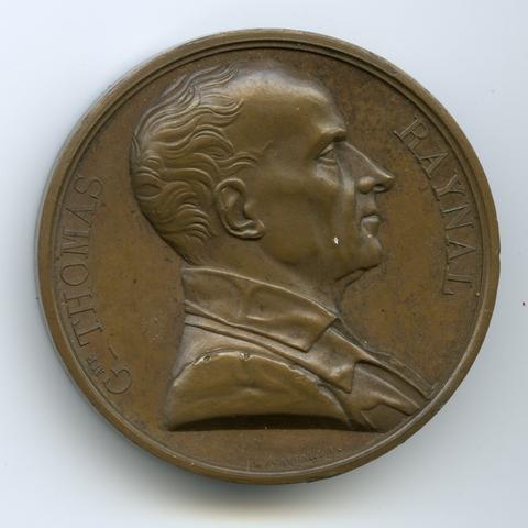 Le sculpteur Raymond Gayrard réalise le buste de Raynal