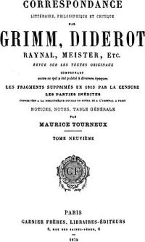 Publication de la première Nouvelle Littéraire