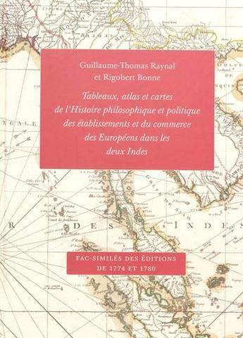 Publication de l'Atlas de l'Histoire des deux Indes