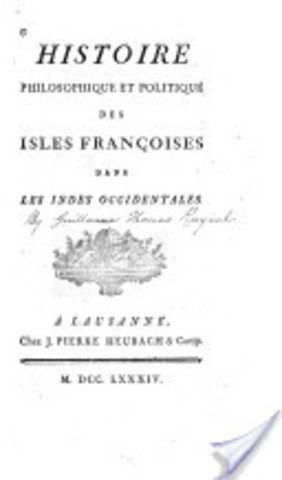 Histoire philosophique et politique des isles françoises