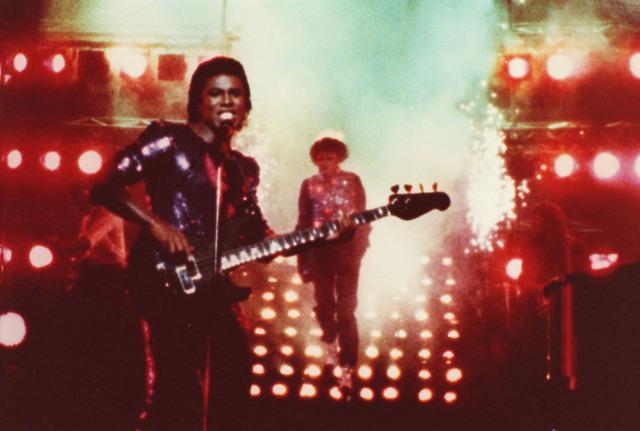 Michael Jackson's hair catches fire
