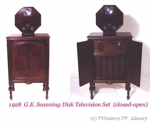 G.E Scanning Televiosn Set