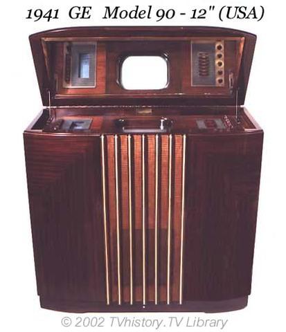 """1941 GE Model 90-12"""" (USA)"""