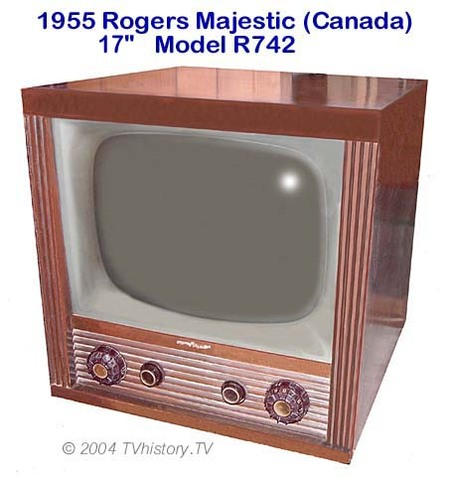 "1955 Rogers Majestic 17"" Model R742 (CANADA)"