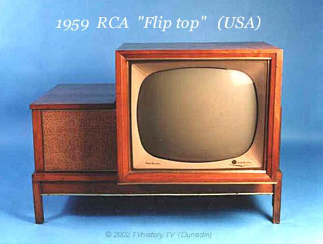 """1959 RCA """"Flip top"""" (USA)"""