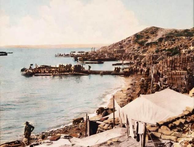 The last Anzacs depart Gallipoli