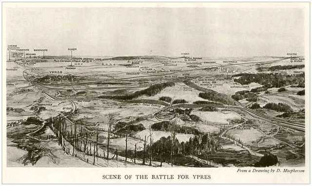 1st Battle of the Ypres.
