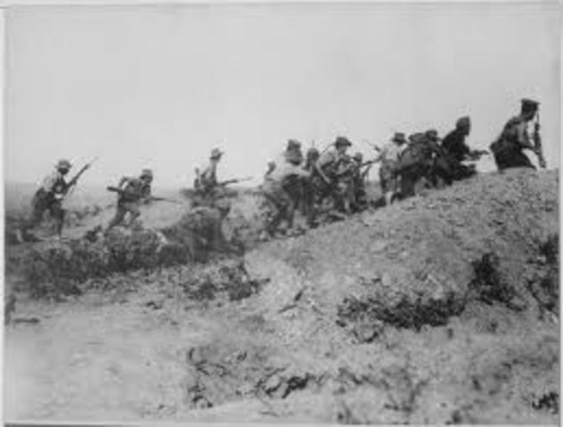 The final British attempt to resuscitate the offensive