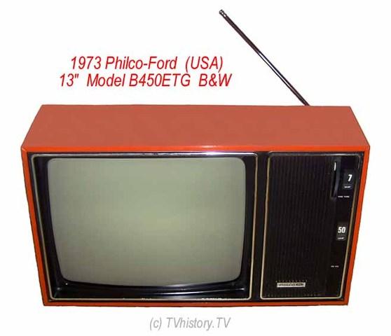 1973 Philco-Ford - Model B450ETG