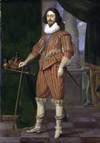 Charles I succeedes James I