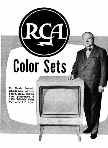 Color TV was introduced
