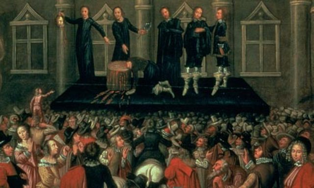 Charles I is Executed