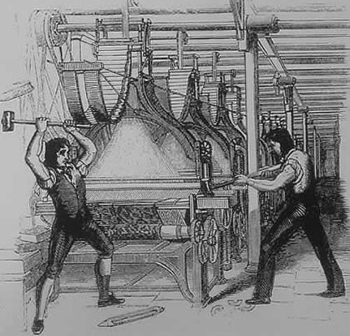 Luddite riots