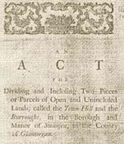 Inclosure Acts (1773)