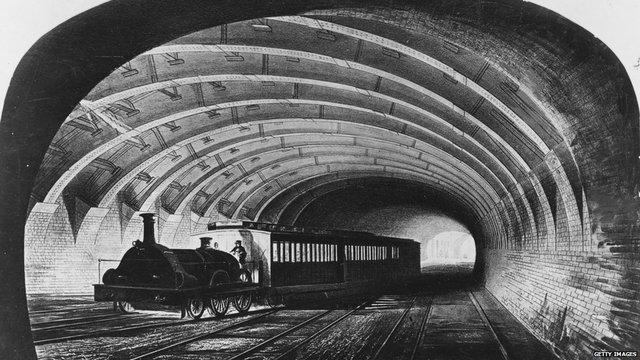 London underground rail system
