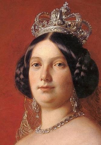 Llegada de Isabel II