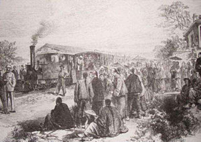 The first inter city railway