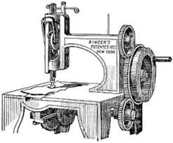 The Invention of the practical sewing machine